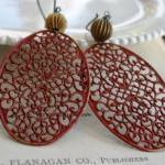 Un Voile de Soie Earrings -..